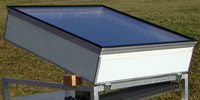 Solaref : Solar ice fridge